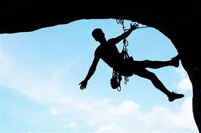 Climbing Rock Benefits Health Silhouette Fun Climb