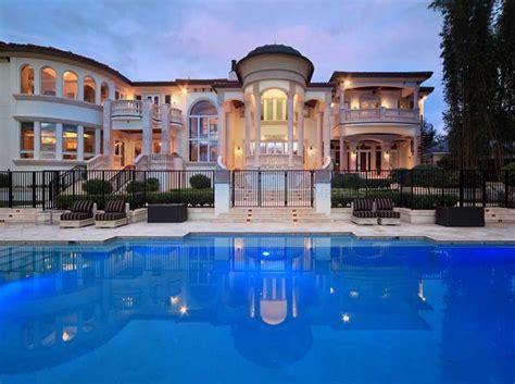 kitchen dining room floor plans 6 995 million lakefront mediterranean mansion in winter