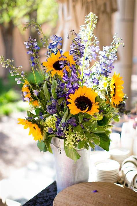 sunflower table arrangements ideas
