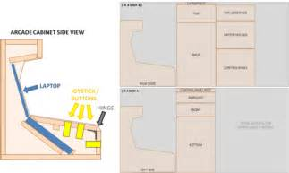 arcade cabinet plans images