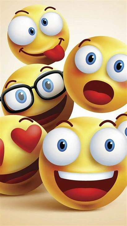 Emoji Funny Iphone Phone Smile Wallpapers Background