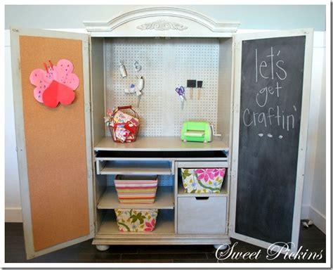 Craft Hutch - craft hutch sweet pickins furniture