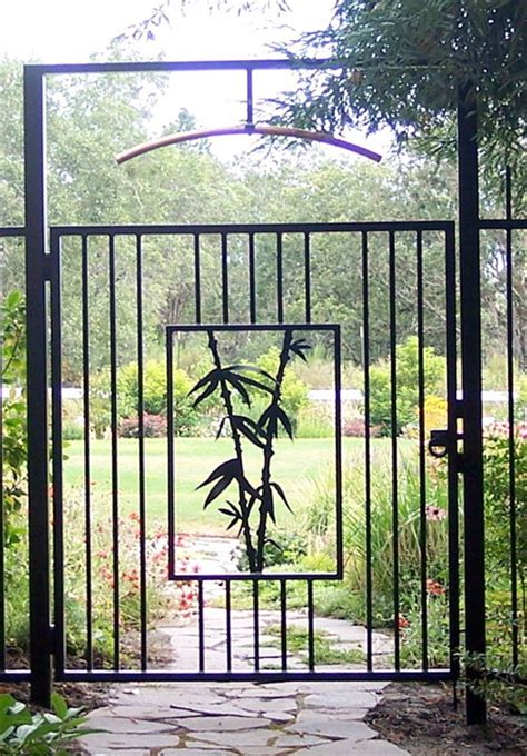 asian style garden gate asian other metro by cheryl
