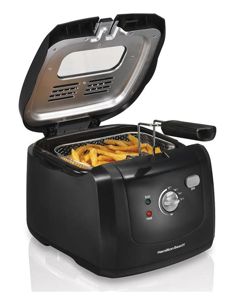 deep fryers fryer oil fry frying fried hamilton beach cool basket right safe fries kitchen french equipment safety appliances dimensions