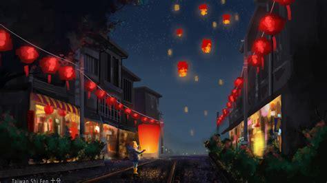 wallpaper chinese  year lantern festival
