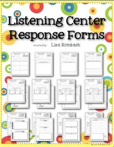 listening centers images  grade reading