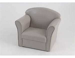 Fauteuil Pour Bébé : fauteuil pour enfant de couleur taupe de la marque amadeus ~ Teatrodelosmanantiales.com Idées de Décoration