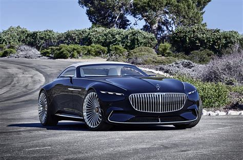 Electric Mercedes-maybach 6 Cabriolet Concept Car Revealed