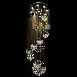 Lustre Cristal Moderne : modern 11pcs lustre crystal ball design chandelier large lustres de cristal lights home decor ~ Teatrodelosmanantiales.com Idées de Décoration