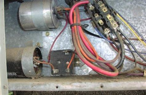 What This Device Hooked The Capacitors Trane