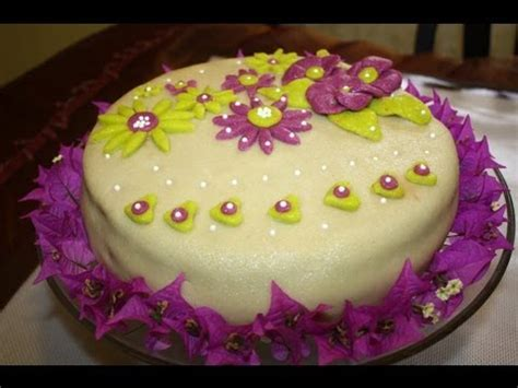 decoration pate d amande recette de gateau d anniversaire 224 la pate d amande my birthday cake with marzipan sousoukitchen