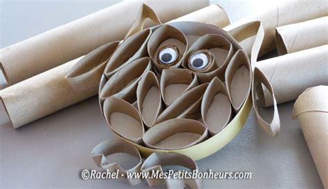 mes petits bonheurs hibou bricolage rouleaux papier toilette bricolage toilets