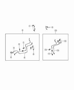Jeep Wrangler Tube  Vapor  Fuel  Lines  Manual