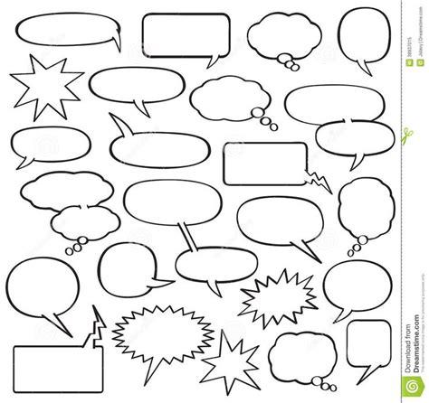 blank comic strip speech bubbles template boys rooms