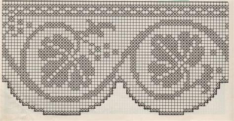 bordure uncinetto per mensole professione donna schemi per il filet bordure