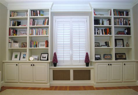 bookcases that look built in built in bookcases ideas for small space