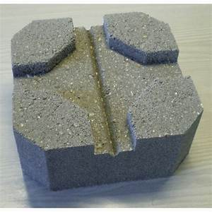 Plot Terrasse Beton : plot b ton pour terrasse 24 x 24 x 10 cm dalle de ~ Edinachiropracticcenter.com Idées de Décoration