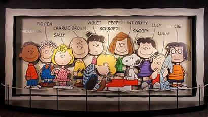 Charlie Peanuts Brown Gang Fall Snoopy Wallpapers