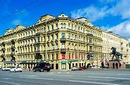 Nevsky Prospect Saint-Petersburg Russia