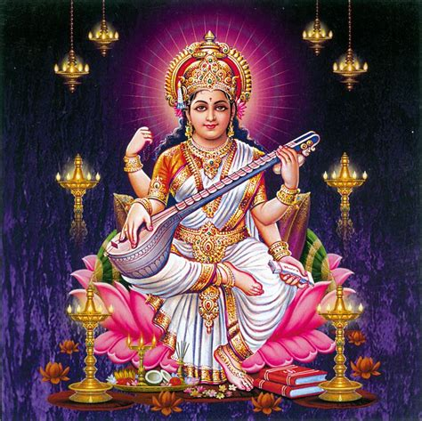 Animated Goddess Saraswati Wallpaper - goddess saraswati