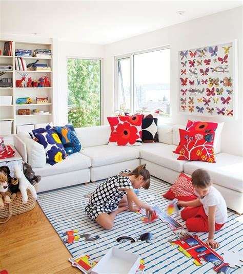 Family Friendly And Colorful by 20 Best Ideas About Living Room Playroom On