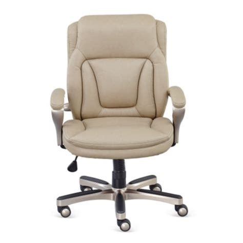 low height computer chair w memory foam seat