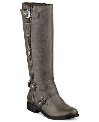 G by Guess Wide Calf Riding Boots