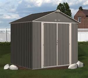 Abri De Jardin Arrow : abri de jardin arrow ezee shed ez87 gris fonc bande cr me ~ Dailycaller-alerts.com Idées de Décoration
