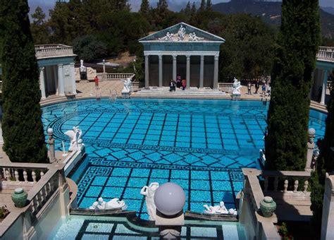 castle hearst pool tour virtual simeon san