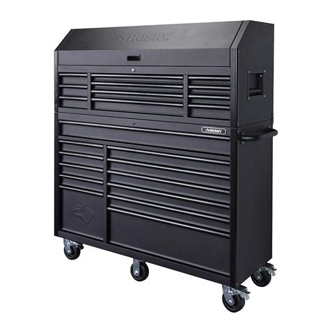 husky tool storage cabinets husky 56 in 23 drawer tool chest and rolling cabinet set