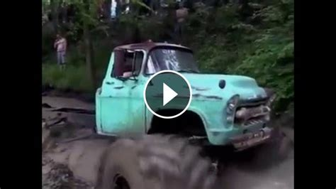 chevy truck  turned   cool monster truck