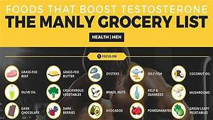 Testosterone Boosting Foods For Men