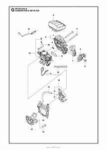 Husqvarna 465 Rancher Ii Parts Diagram For Carburetor Air