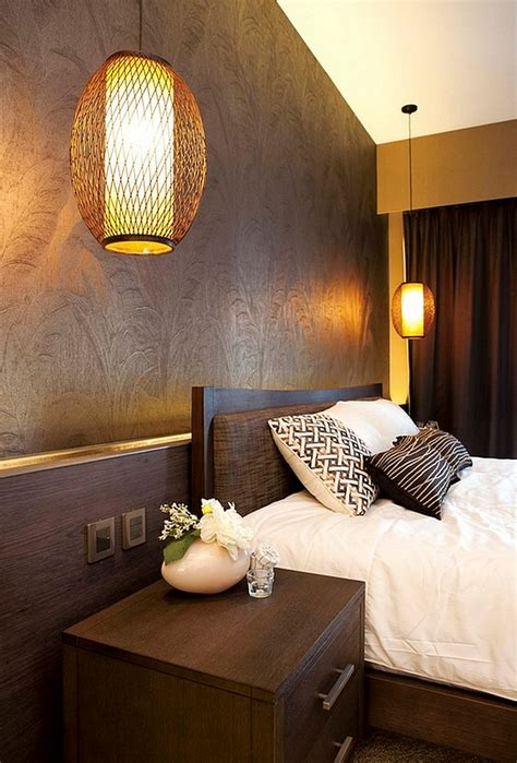japanese themed bedroom asian inspired bedrooms design ideas pictures 11915 | Bold lighting ideas for the asian themed bedroom
