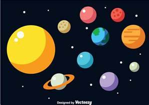 Solar System Vector - Download Free Vector Art, Stock ...