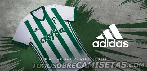 Camisa 2 adidas do Palmeiras 2017-18 - Todo Sobre Camisetas