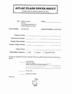 Aflac fax cover sheet fill online printable fillable blank pdffiller for Fax cover sheet for insurance claim