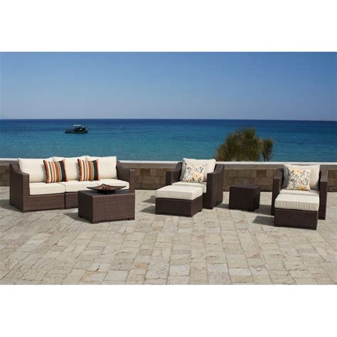 outdoor sectional sofa canada patio sofas sectionals in canada