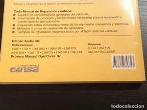 Citroen Xantia  U00b496 - Manual Taller Orginal Guia