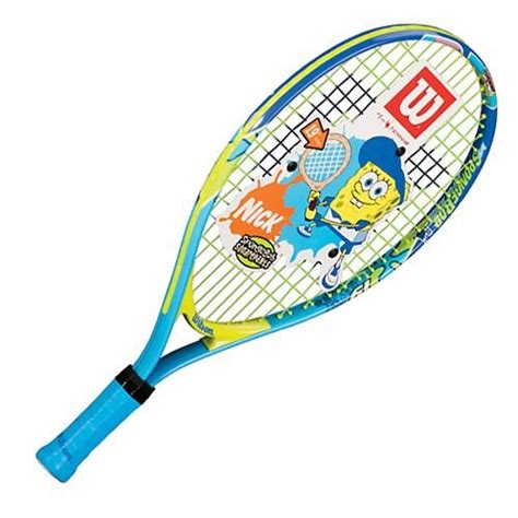 tennis racket wilson wilson spongebob  junior tennis racquet   head