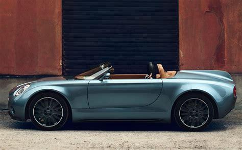 Mini Superleggera Vision Concept Car Body Design
