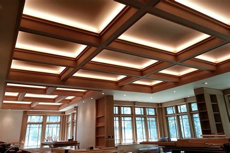 deco bathroom ideas coffered ceiling armstrong with coffered ceiling and crown