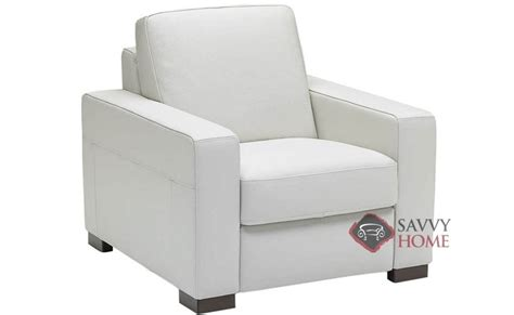 Natuzzi White Leather Swivel Chair by Corno A397 Leather Chair By Natuzzi Is Fully