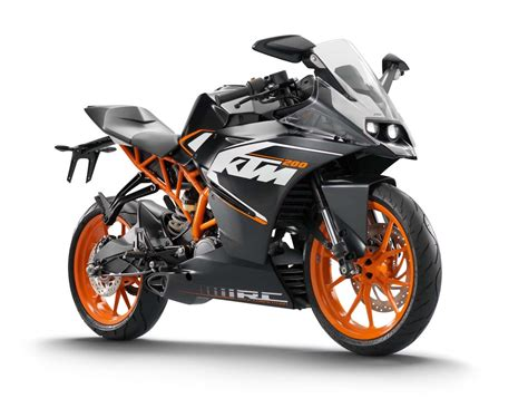 ktm rc 125 auspuff 2014 ktm rc 125 rc 200 rc 390 all new and ready to race motoreds