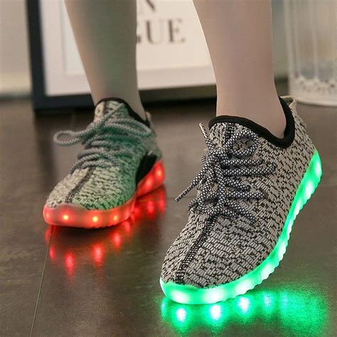 Yeezy Light Up Shoes by A Md Yeezy Light Up Shoes Yeezy S Lights