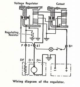 Alternator Regulator Schematic Diagram