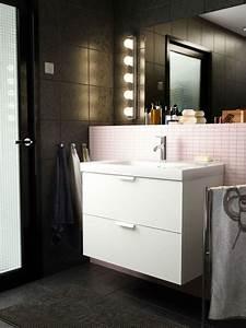 Lampe Salle De Bain Ikea : eclairage salle de bains lequel choisir c t maison ~ Teatrodelosmanantiales.com Idées de Décoration