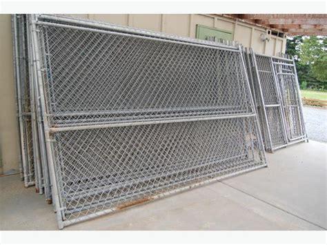 galvanized chain link fence panels  victoria