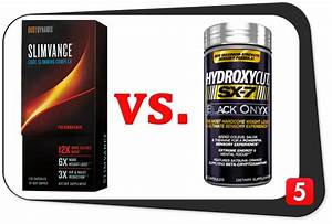 Slimvance Thermogenic Vs  Hydroxycut Sx-7 Black Onyx