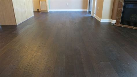 staining hardwood floors darker flooring ideas home